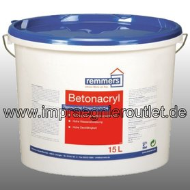 Betonacrylverf (Color PA) wit/RAL (12.5 liter)