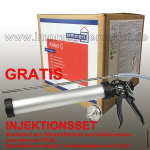 Kiesol C 10 L inkl Injektionsset